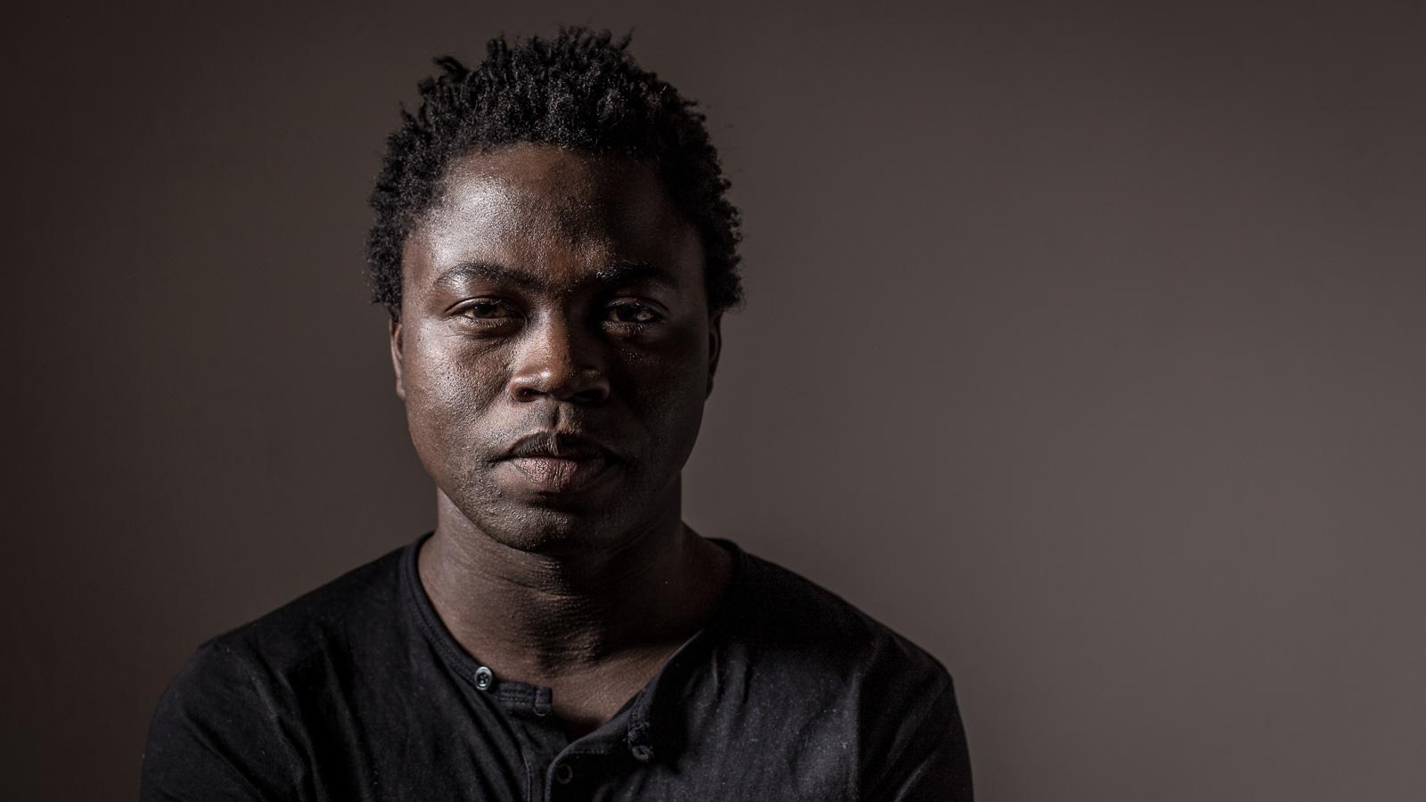 Portraitfotografie -Autor Joel Agnigbo Buch Stolpersteine auf dem Weg zur Freiheit